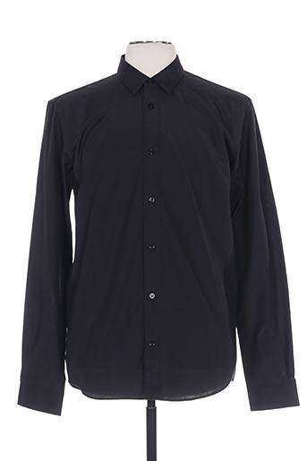 fairplay chemises homme de couleur noir