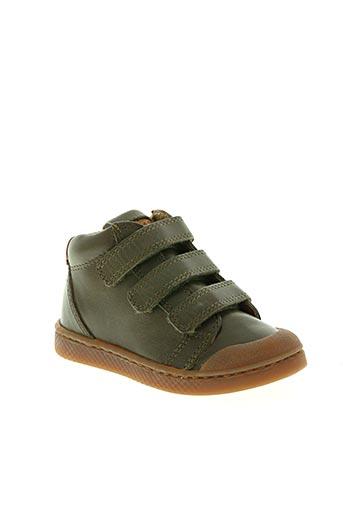 10 is chaussures fille de couleur vert