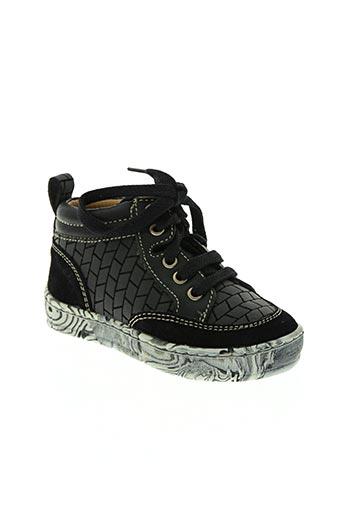 pom d'api chaussures garçon de couleur noir