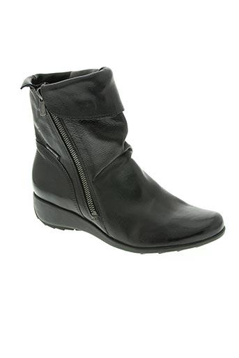 mephisto chaussures femme de couleur noir