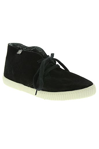 victoria chaussures homme de couleur noir