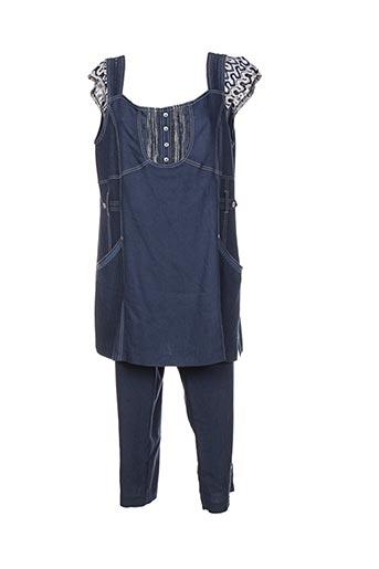 jean gabriel ensembles femme de couleur bleu