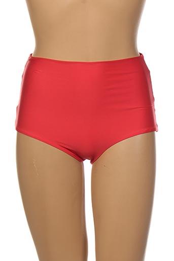 Bas de maillot de bain rouge ANDRES SARDA pour femme