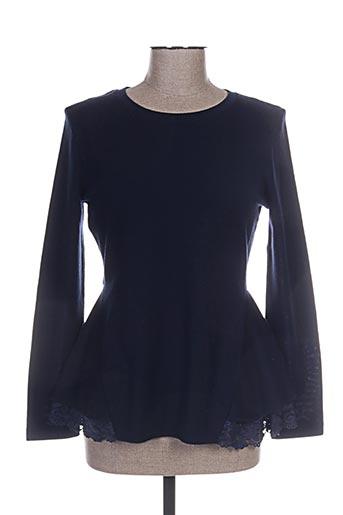 lisanza tuniques femme de couleur bleu