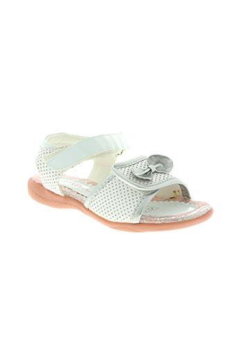 wipop chaussures fille de couleur blanc