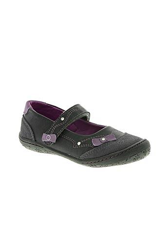 wipop chaussures fille de couleur gris