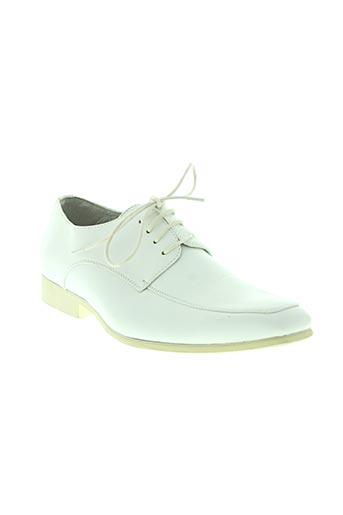 goor chaussures homme de couleur blanc