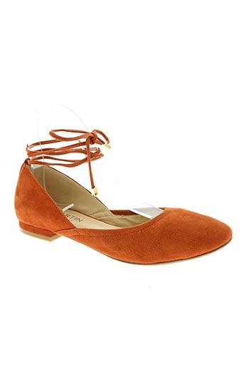 jb martin chaussures femme de couleur orange
