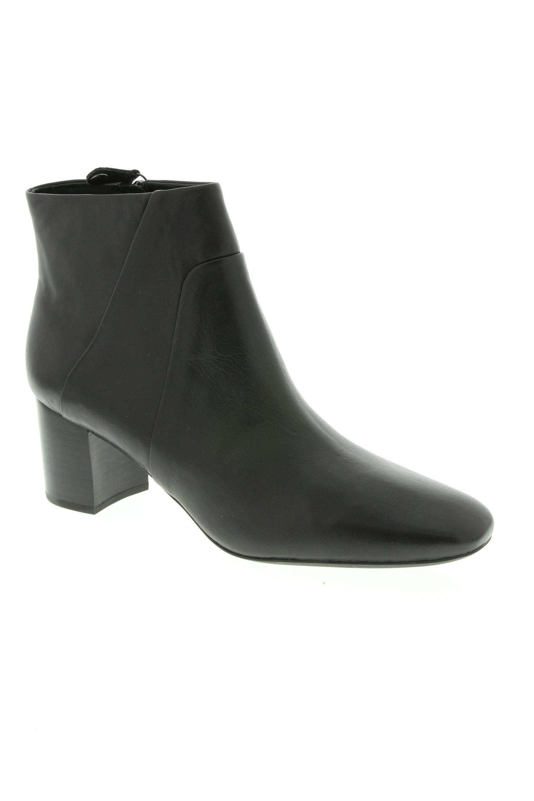 GEOX Chaussures BottinesBoots de couleur noir en soldes pas cher 1243655 noir00 Modz