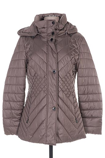 rofa fashion group manteaux femme de couleur marron