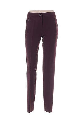 paz torras pantalons femme de couleur rouge
