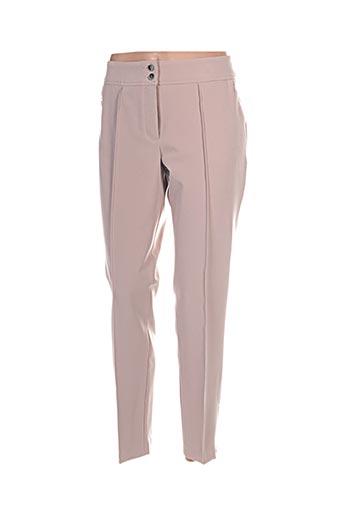 Pantalon 7/8 beige BETTY BARCLAY pour femme