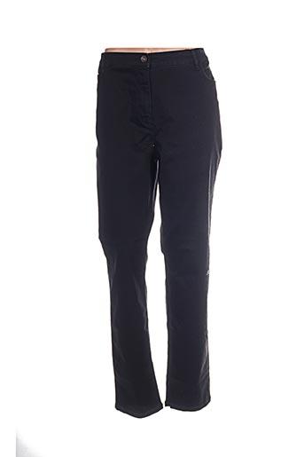 Pantalon casual noir BETTY BARCLAY pour femme