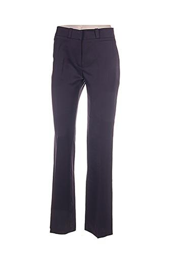 lola pantalons femme de couleur violet