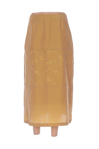 Jupe longue jaune BETTY BOOM pour femme