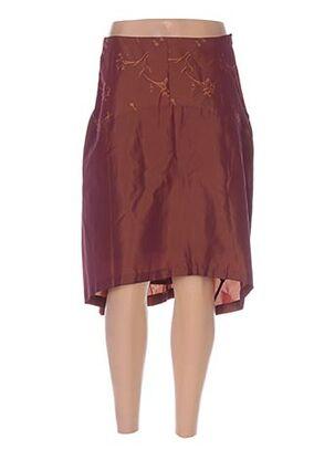 Jupe mi-longue rouge BETTY BOOM pour femme