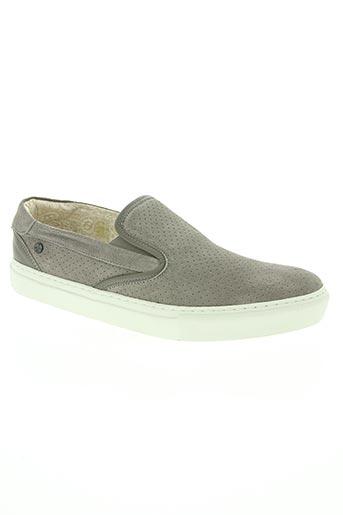 no excess chaussures homme de couleur gris