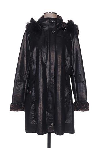 rever mile manteaux femme de couleur noir