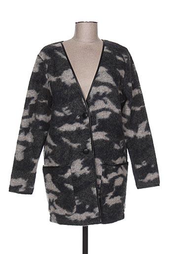 Veste casual gris IMITZ pour femme