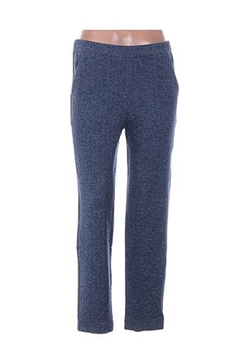 Pantalon casual bleu BELLA JONES pour femme