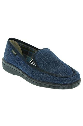 la vague chaussures unisexe de couleur bleu