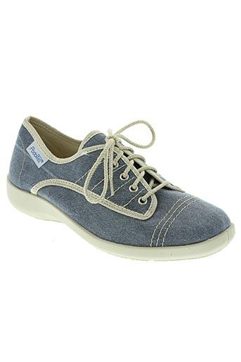 podowell chaussures femme de couleur bleu