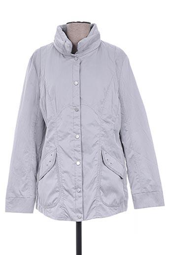 el internationale manteaux femme de couleur gris