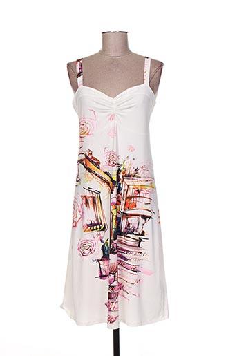 etoile du monde robes femme de couleur blanc