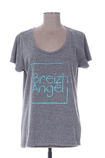 breizh angel t-shirts femme de couleur gris