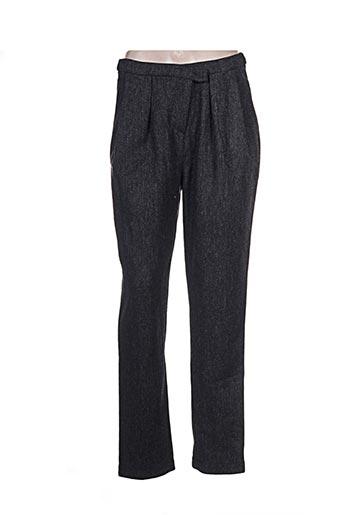 karma koma pantalons femme de couleur gris