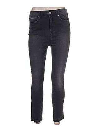 Jeans coupe slim gris ARTICLES OF SOCIETY pour femme
