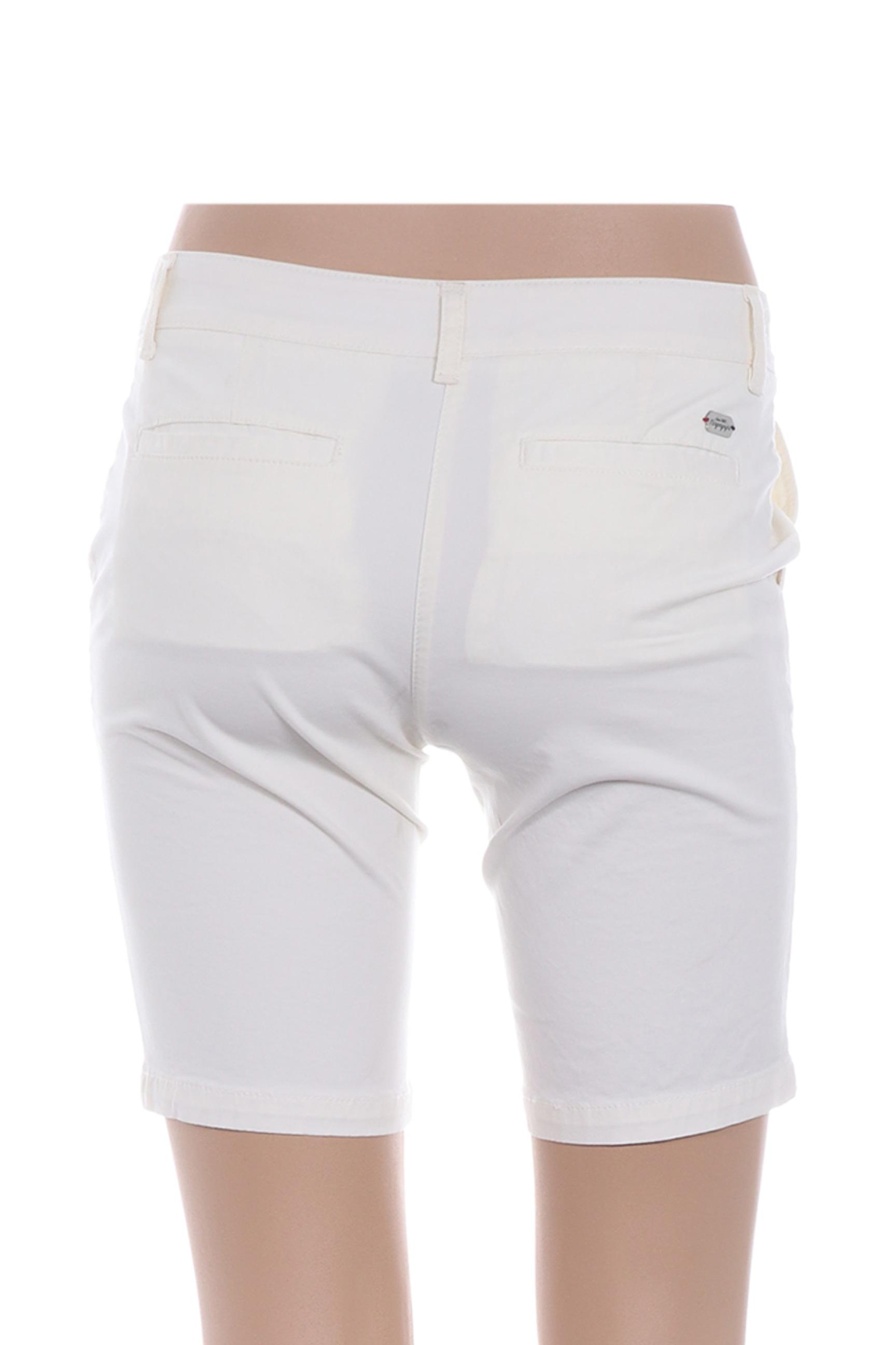 Napapijri Bermudas Femme De Couleur Blanc En Soldes Pas Cher 1273532-blanc0