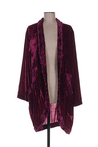 marilu vestes femme de couleur violet