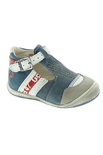 gbb chaussures garçon de couleur bleu