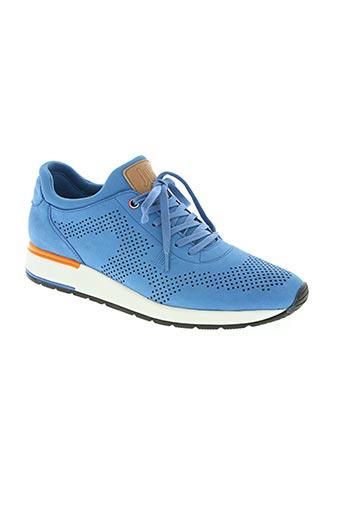 jlk chaussures homme de couleur bleu
