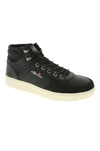 ellesse chaussures homme de couleur noir