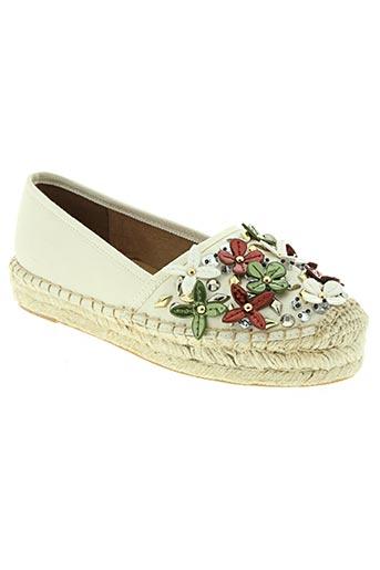 bibi lou chaussures femme de couleur blanc