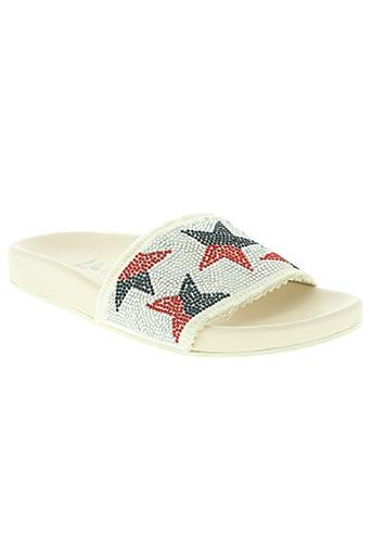 lola cruz chaussures femme de couleur blanc
