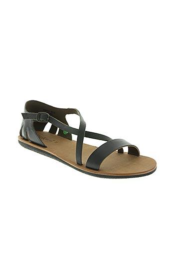 kickers chaussures femme de couleur noir