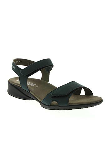 mephisto chaussures femme de couleur bleu