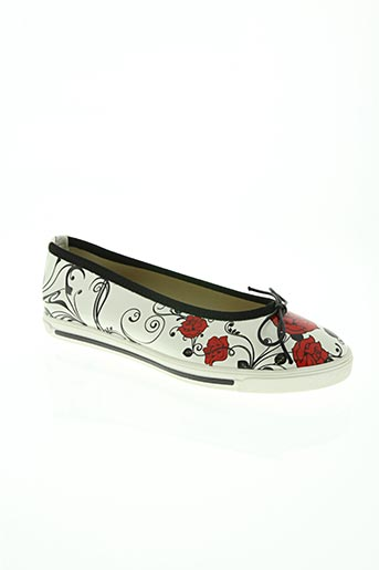 zona centro chaussures femme de couleur blanc