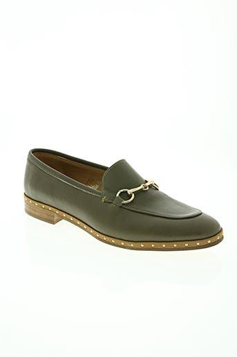 mitica chaussures femme de couleur vert