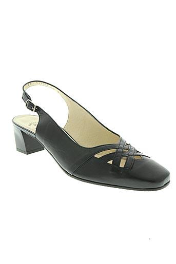 marco chaussures femme de couleur bleu