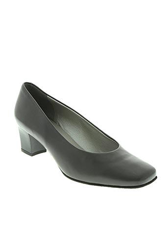 marco chaussures femme de couleur gris
