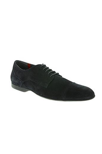 pratik chaussures homme de couleur bleu