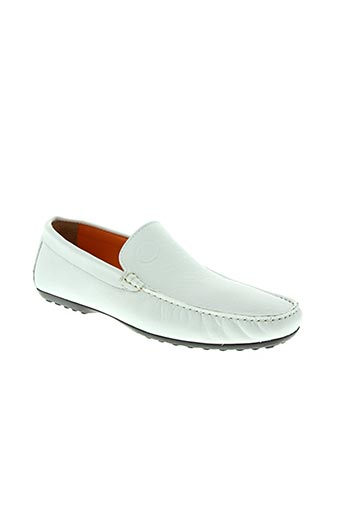 kenzo takada chaussures homme de couleur blanc