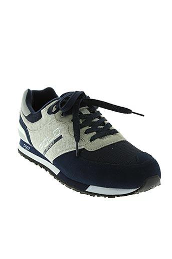 ralph lauren chaussures homme de couleur bleu