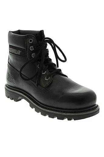 caterpillar chaussures femme de couleur noir