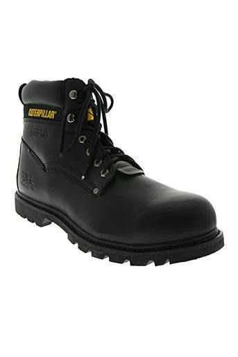 caterpillar chaussures homme de couleur noir