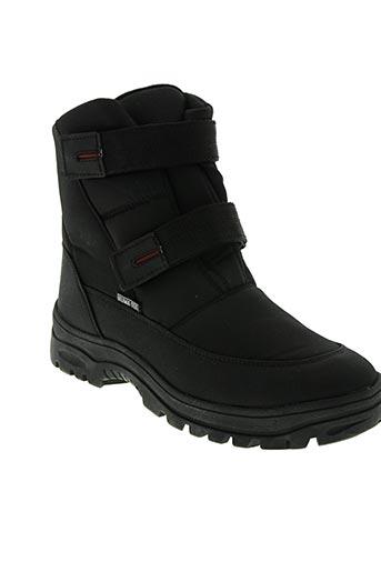 la thuile chaussures homme de couleur noir